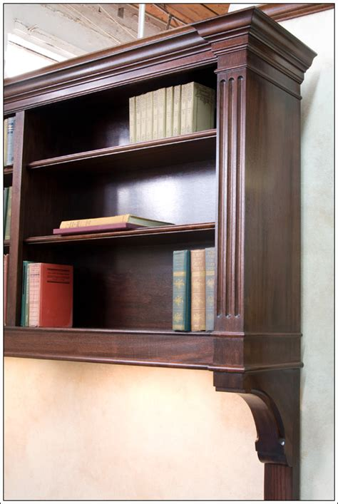hanging bookshelf mahogany hanging bookcase