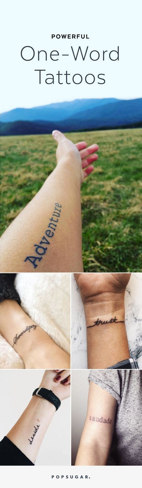 single word tattoos 1000 ideas about one word tattoos on simple