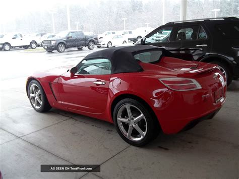 saturn sky 2009 saturn sky red line related infomation specifications