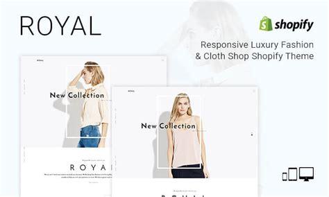 shopify themes luxury royal responsive luxury fashion cloth shop shopify