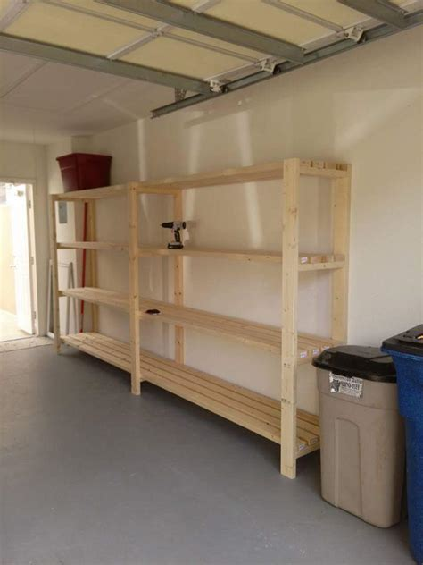 ana white garage shelving unit diy projects