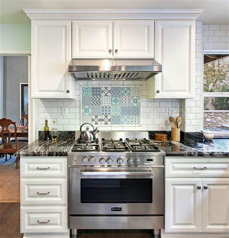 creative kitchen backsplash an audacious and trendy mix 25 creative patchwork tile