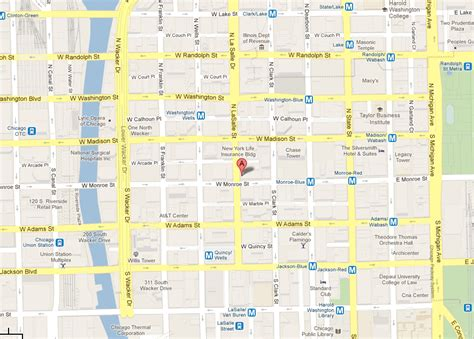 chicago loop map chicago loop images