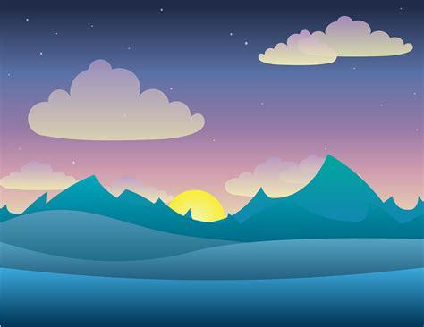 wallpaper awan senja 무료 벡터 그래픽 풍경 벡터 황혼 빛 밤 하늘 고속도로 도로 수송 pixabay의