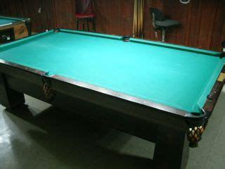 bristol ii by brunswick made in the u s a billard pool table