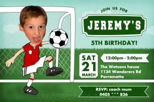 soccer birthday invitations printable