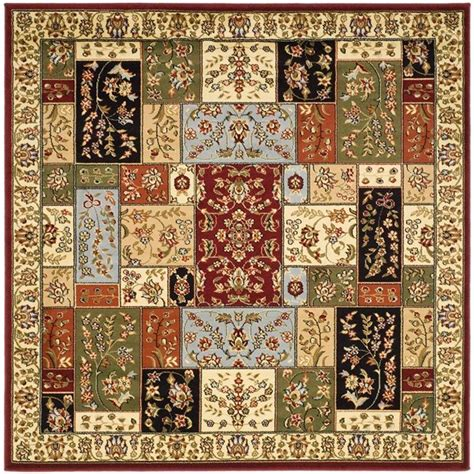 10 X 10 Ft Square Rug - safavieh lyndhurst multi ivory 10 ft x 10 ft square area