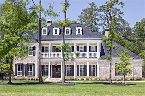 southern plantation style house plans plantation house plans home with porches southern baton