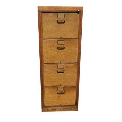 56 5 Quot Vintage Industrial Age Wood Filing Cabinet Office Furniture File Cabinets Wood