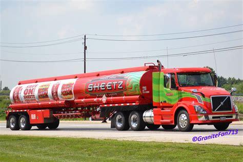 sheetz volvo vnl truck   operated  cli tran trucks buses trains