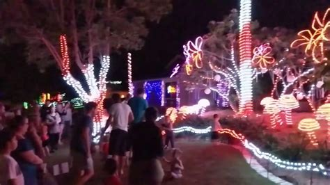 2016 gold coast christmas lights at forest oak drive