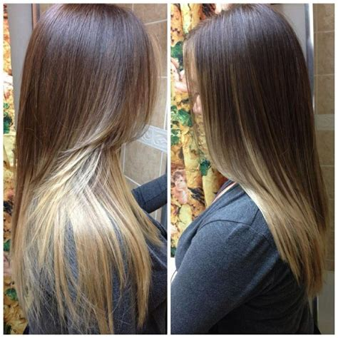 pictures of brown and blonde ombre hair brown and blonde ombre hair ombre hair pinterest