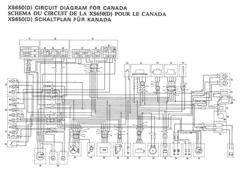1981 xs650 rephased wiring diagram wiring diagram manual