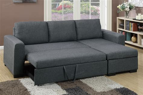grey chaise sectional blue grey fabric storage chaise sectional sofa