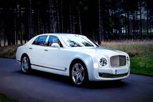 Bentley Mulsanne White Bentley Mulsanne Car Hire Cambridgeshire