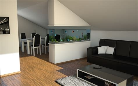 living room aquarium living room aquarium by slographic on deviantart