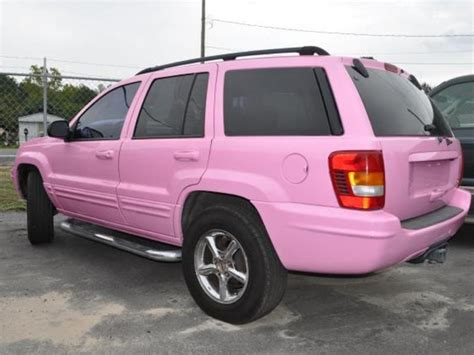 Pink Jeep Grand I Wish For A Pink Grand With Which To Tow My Pink