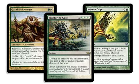 exalted deck enchanted enablers magic the gathering
