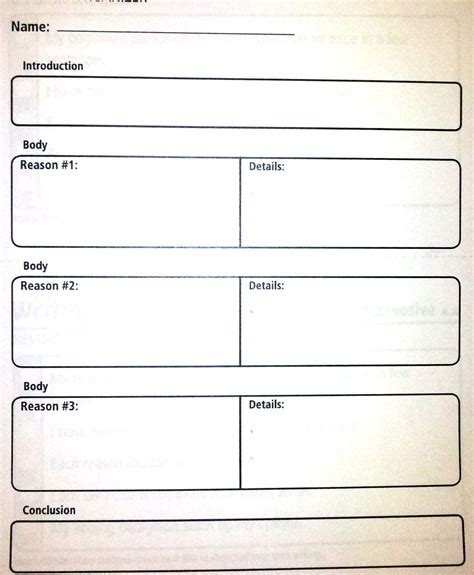 How To Make A Graphic Organizer On Paper - graphic organizer for informative paper handwriting