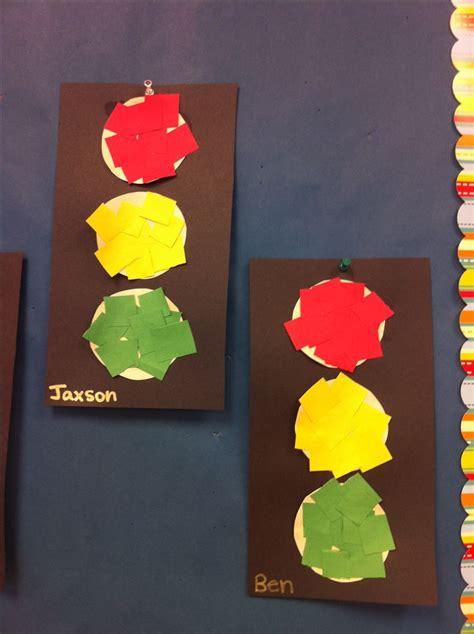 craft lights best 25 traffic light ideas on preschool