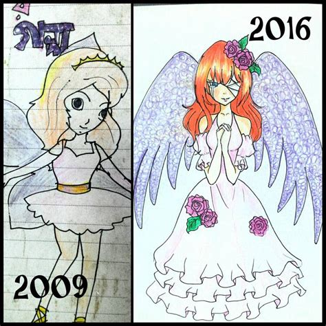 Drawing Now by My Drawing Now And Then 4 Anime Artist Aurpita By