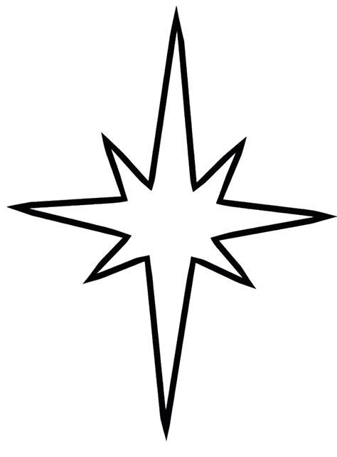 christmas star coloring page christmas preschool