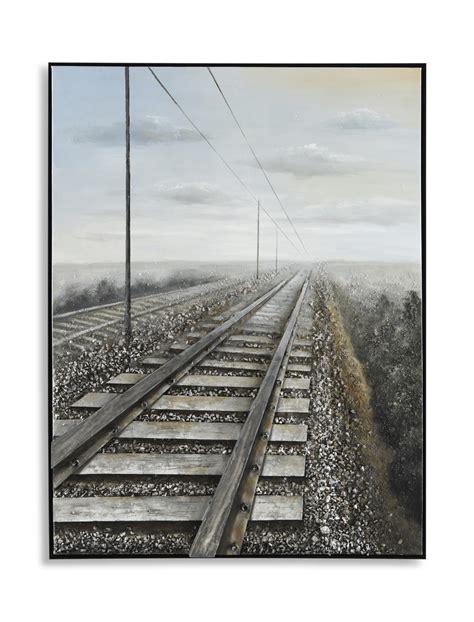 railroad tracks canvas art hom furniture