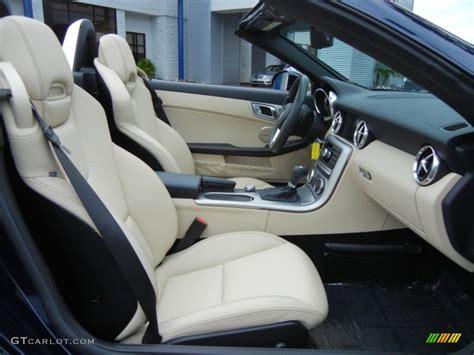 Slk 250 Interior by 2012 Mercedes Slk 250 Roadster Interior Color Photos
