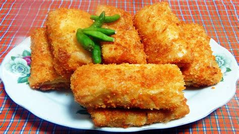 membuat risoles youtube cara membuat dan resep risoles isi rebung youtube