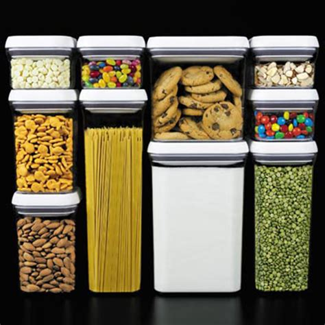 oxo kitchen storage containers oxo pop 10 container set kitchen storage
