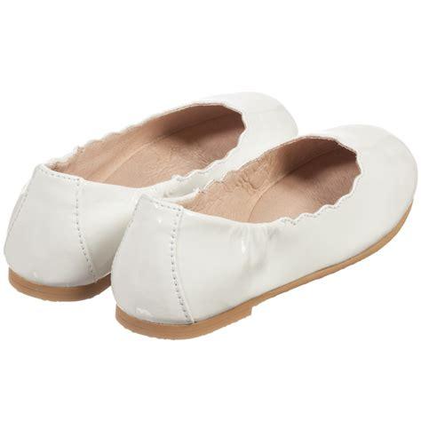 white ballerina shoes for bloch white patent leather scallop ballerina