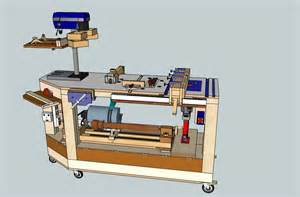 6 in 1 multi power tool work bench by steliart