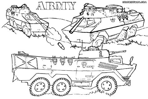 coloring pictures of army vehicles army coloring pages coloring pages to download and print