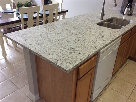 White Kitchen Cabinets With Granite ipanema white granite countertops