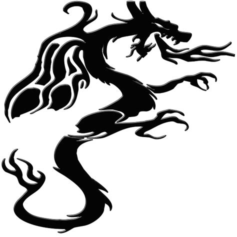 monster tattoo png free illustration dragon monster mythical creature