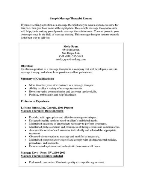 Therapy Resume Objectives by Therapist Resume Sle Therapist Resume Sle Therapist Resume