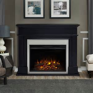 electric black fireplace harlan grand infrared electric fireplace mantel package in black 8060e blk