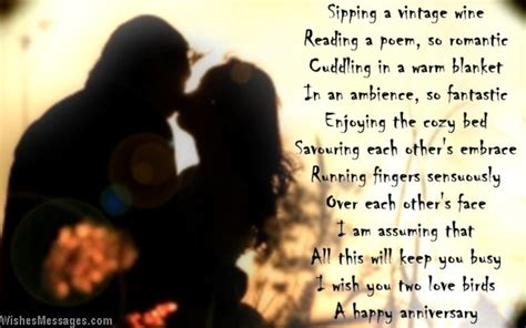 Wedding Anniversary Quotes For Husband Far Away by Anniversary Poems For Couples Wishesmessages