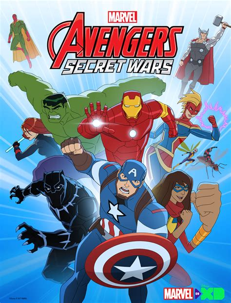 film cartoon war marvel s avengers secret wars to play out in season 4