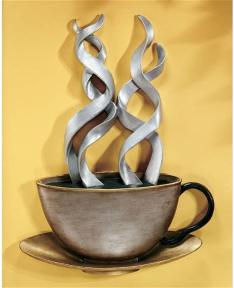 Coffee Cup Wall Decor by Coffee Metal Wall Decor