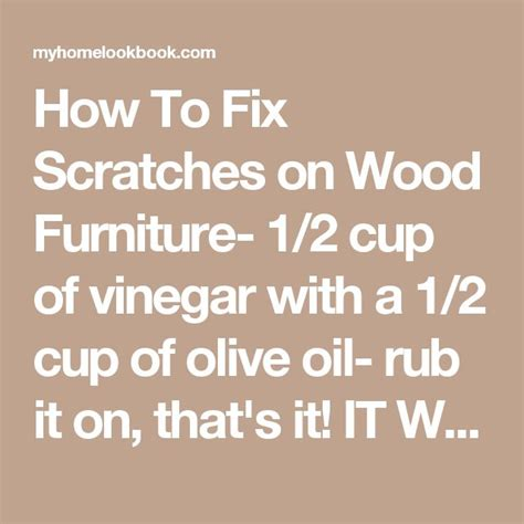 How To Fix Scratches On Wood Furniture by 1000 Ideas About Fix Scratched Wood On Repair