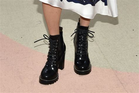Shoe Crimes Connelly On The Carpet connelly wears louis vuitton met gala boots