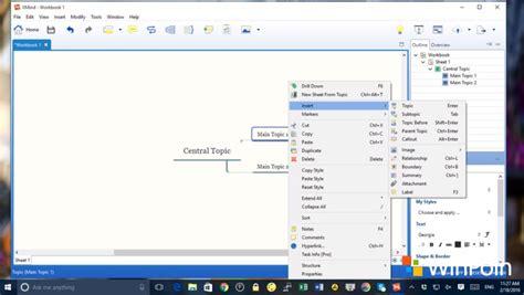 cara membuat mind map di xmind mudahnya membuat mind map di windows dengan xmind winpoin