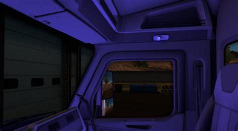 Mod Cabin by The Cabin Lights Ats 1 5 X Mod Ats Mod American Truck Simulator Mod