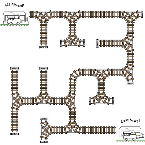 printable railroad tracks colored train track style tiler using train stations as
