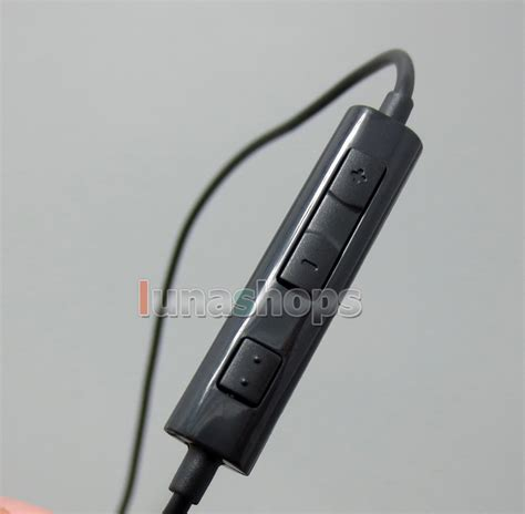 Headset Sennheiser Ie80 c0 1 2m handmade diy cable remote for sennheiser ie8 ie80 earphone headset