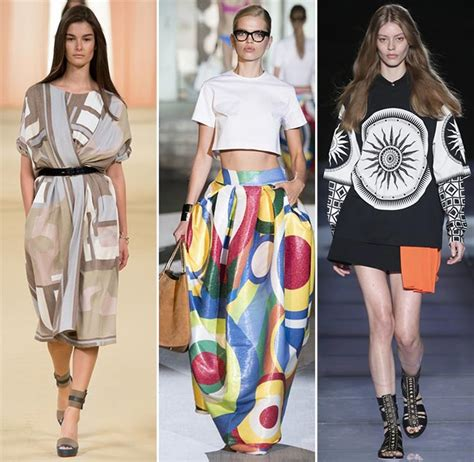geometric pattern fashion trend spring summer 2015 print trends fashionisers