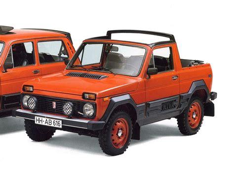 Lada Niva Convertible Convertibles Based On The Soviet Quot Niva Quot Vaz 2121 Drive2