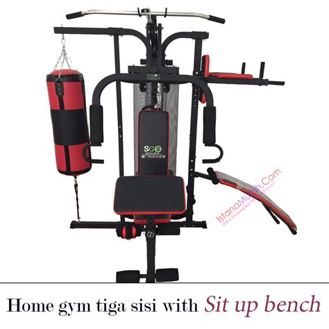 Home 3 Sisi With Sand Sack home tiga sisi with sit up bench istanamurah