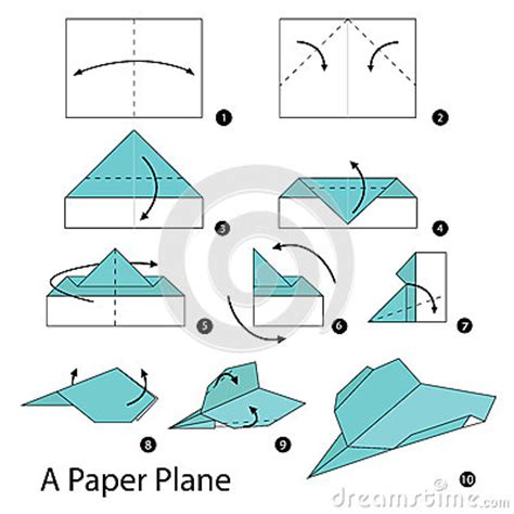 How To Make A Paper Plane That Comes Back - step by step how to make origami a paper